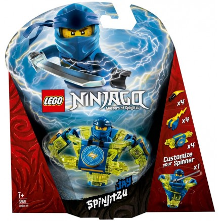 70660 NINJAGO Jay Spinjitzu NEW 01-2019