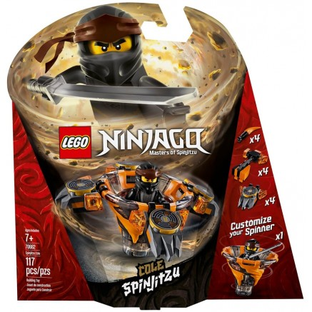 70662  NINJAGO Cole Spinjitzu NEW 01-2019